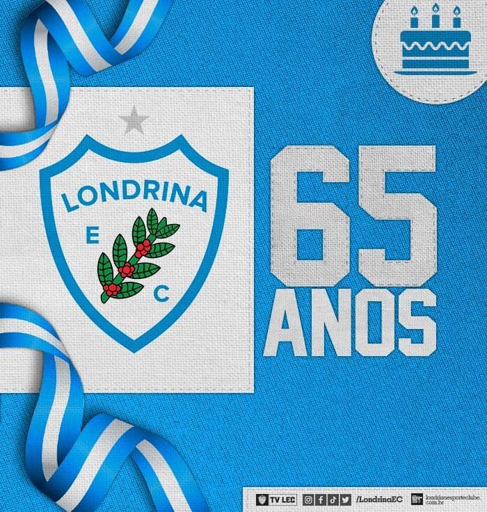 Parabéns Londrina Esporte Clube, 65 anos