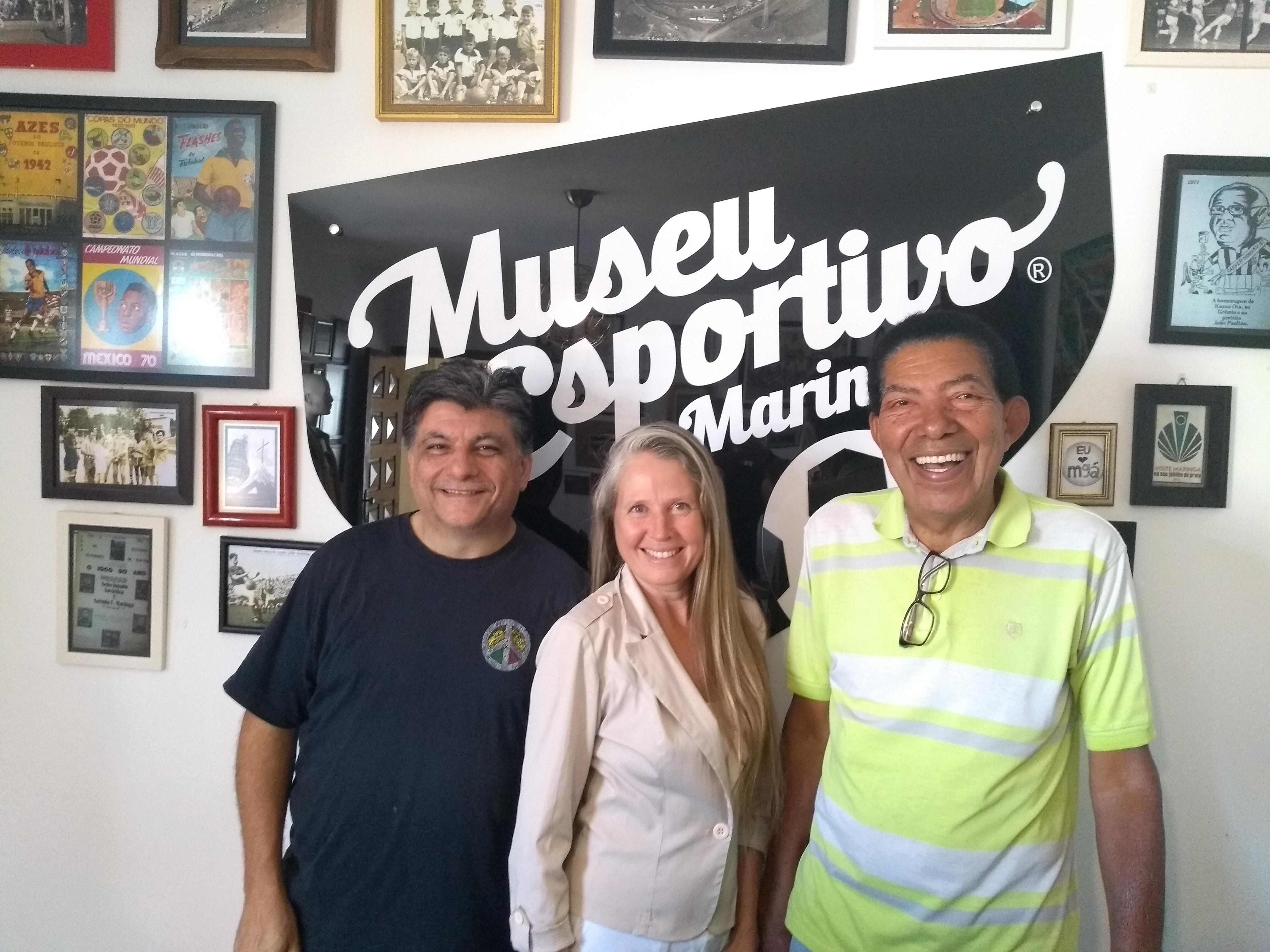 JC Cecílio, Edna Martins e Antero Rocha no MEM