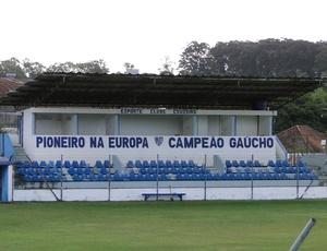 """Da série """"Cabines dos estádios do Brasil"""". Estádio Estrelão, Porto Alegre, pertencente ao Esporte Clube Cruzeiro, de Cachoeirinha"""