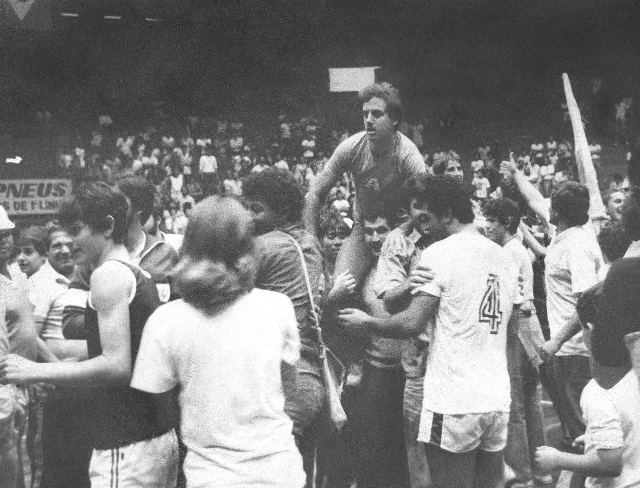 Londrina, campeão dos Jogos Abertos do Paraná no futsal em 1984
