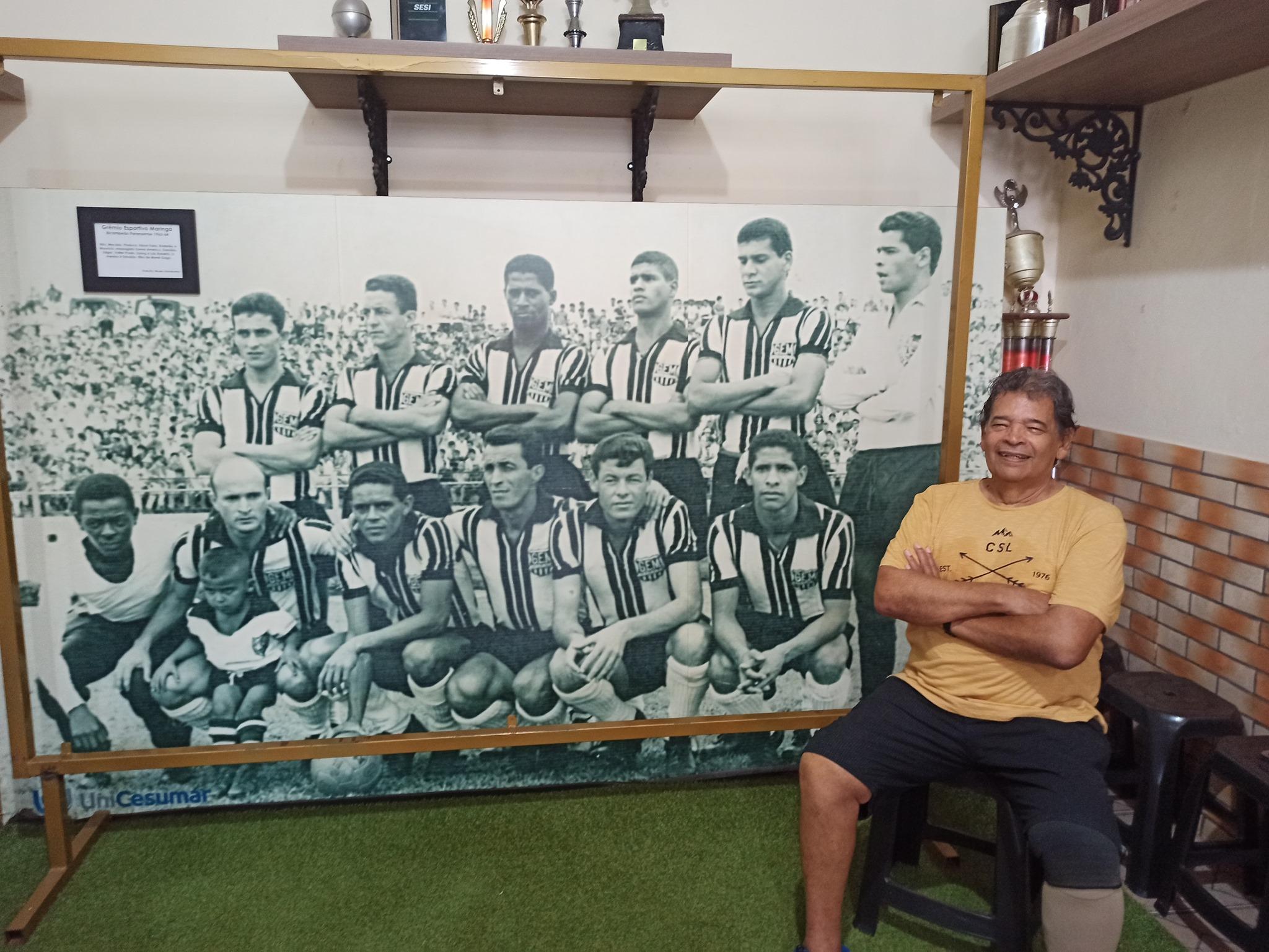 Maurício Gonçalves, o goleiro campeão do Grêmio Esportivo Maringá