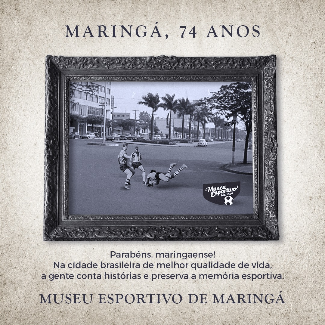 Maringá 74 anos