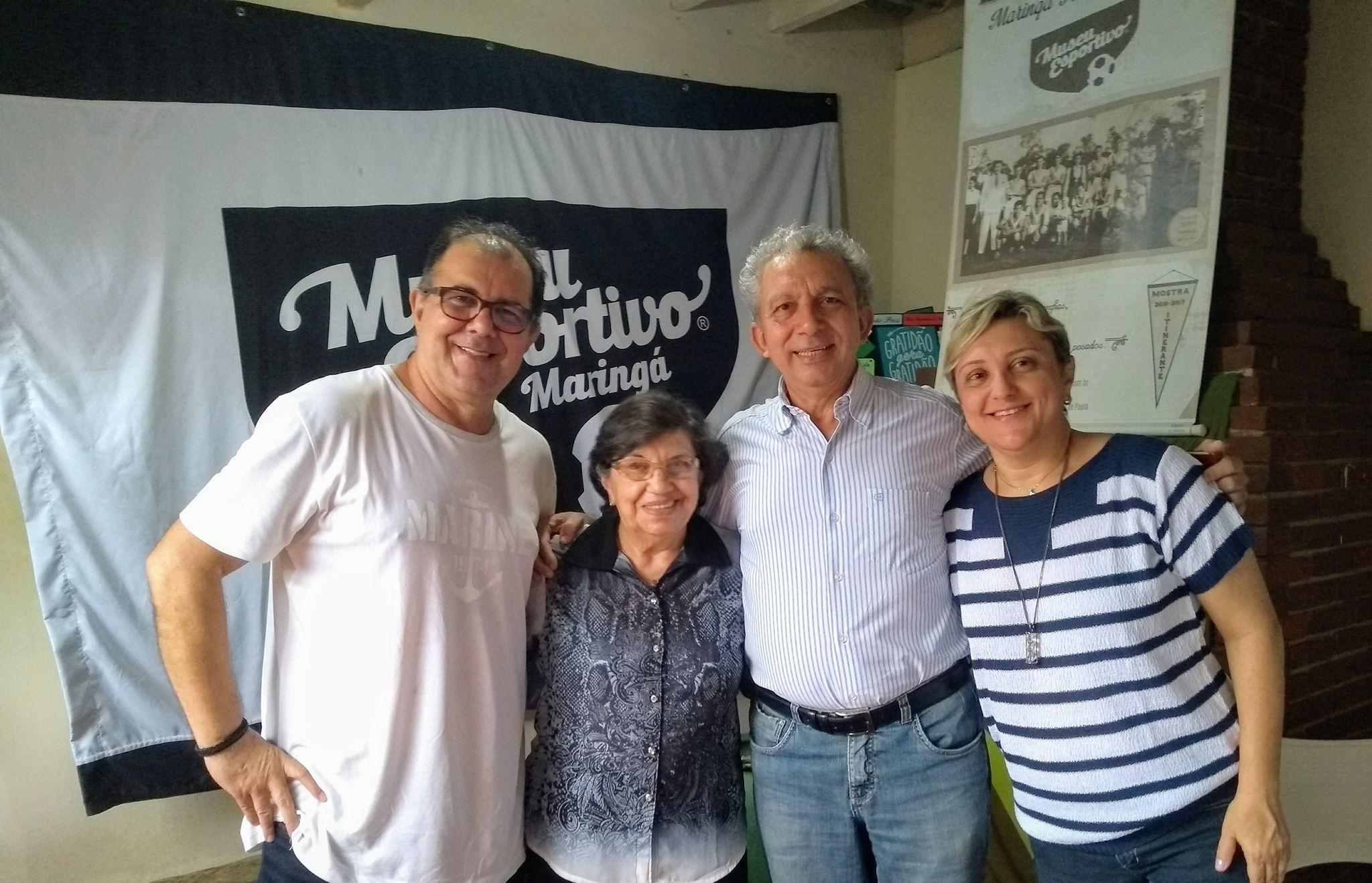 O dia em que o Padre Julinho foi ao Museu Esportivo de Maringá e fez a Oração pelos Enfermos