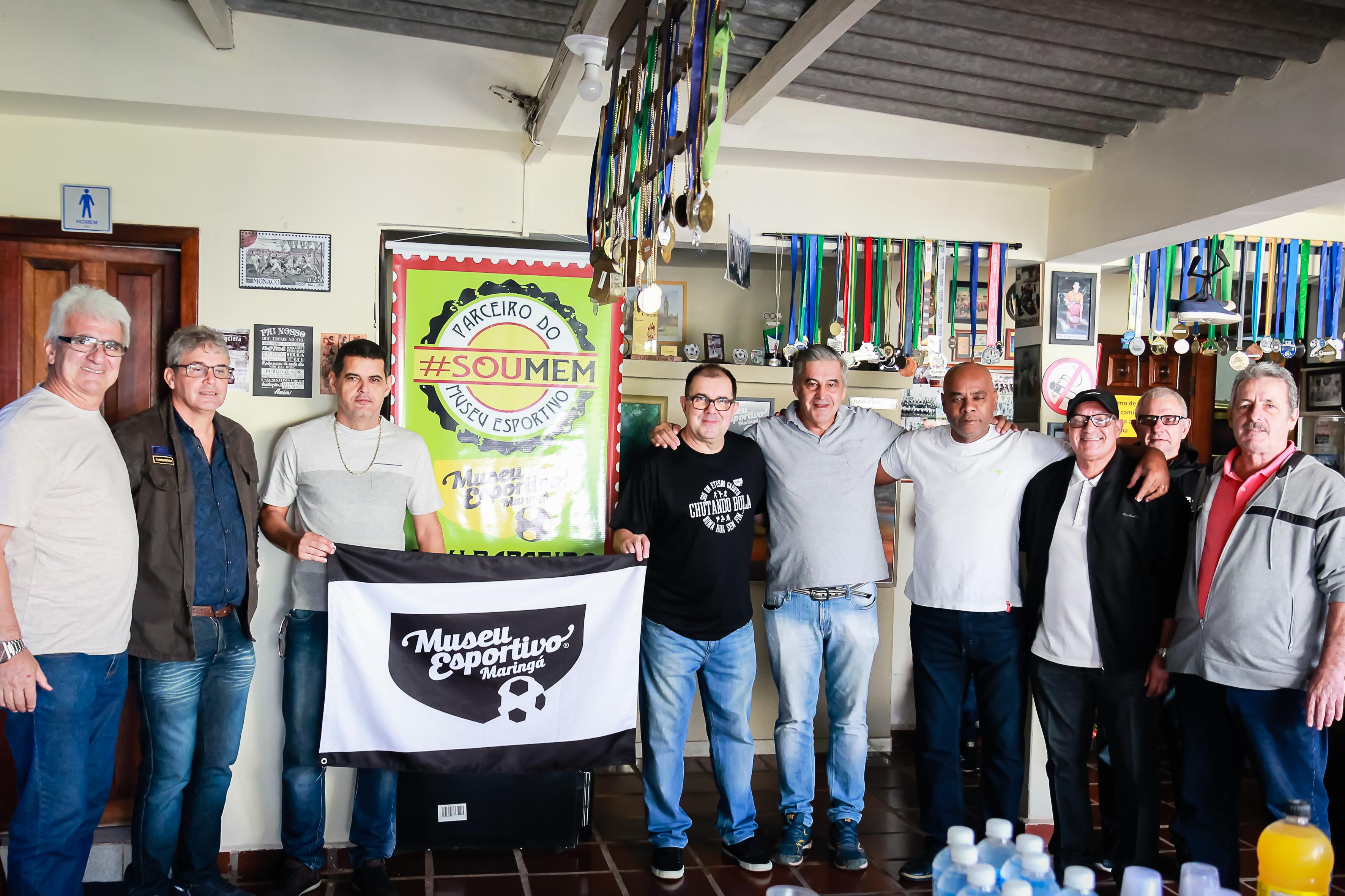 """Lançamento do projeto """"Parceiros do MEM"""" reuniu atletas de diferentes épocas e de diversas modalidades"""