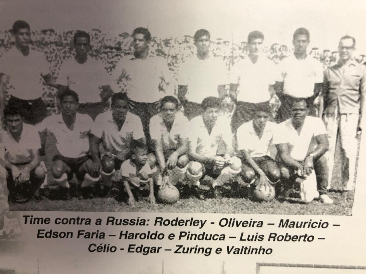 Grêmio Esportivo Maringá 3 x 2 União Soviética, 13 de fevereiro de 1966