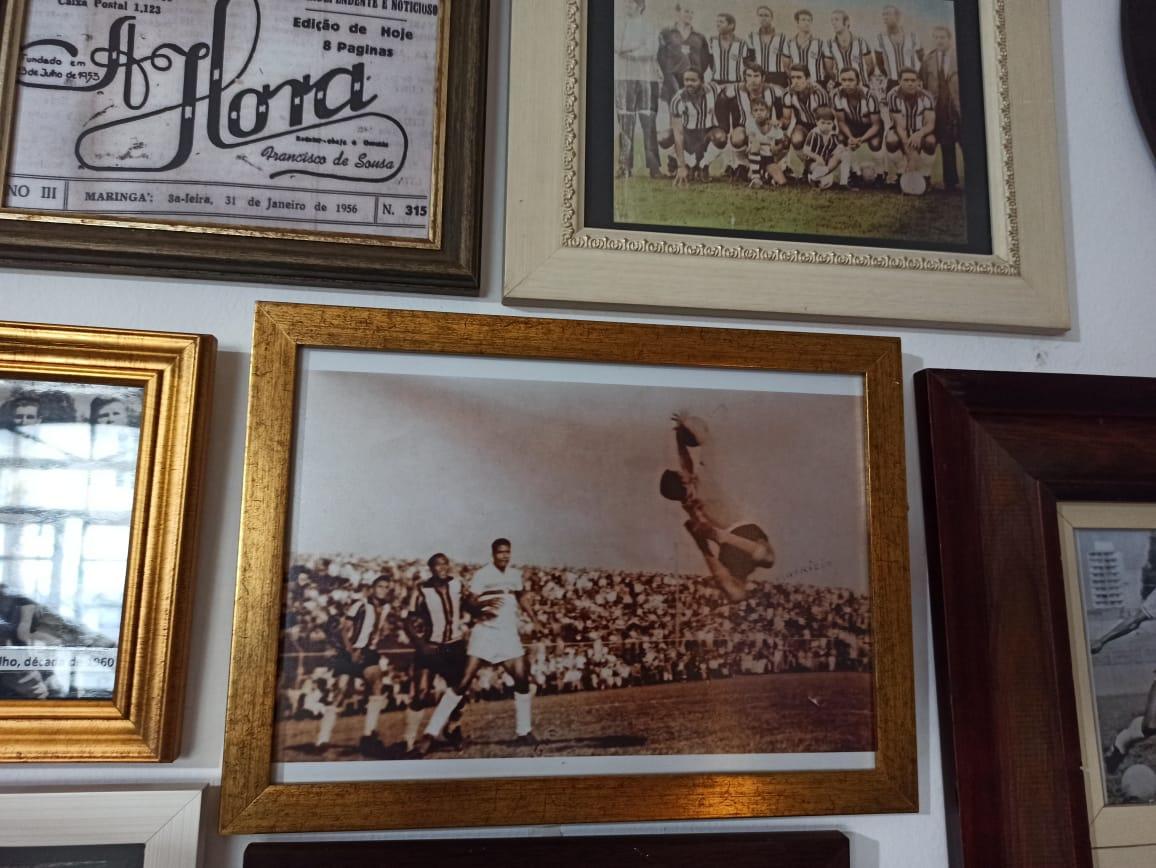 """A """"ponte"""" do goleiro Maurício Gonçalves, grande parceiro do Museu Esportivo de Maringá"""