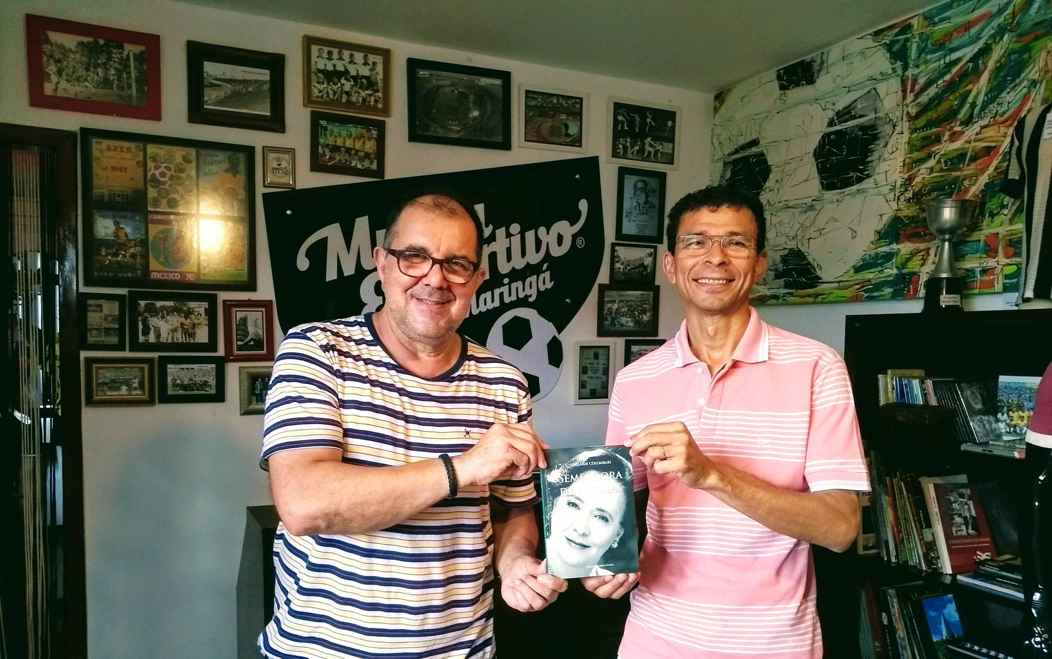 """Dirceu Herrero Gomes lança o livro """"Adelaide Colombari - Semeadora de escolas"""""""