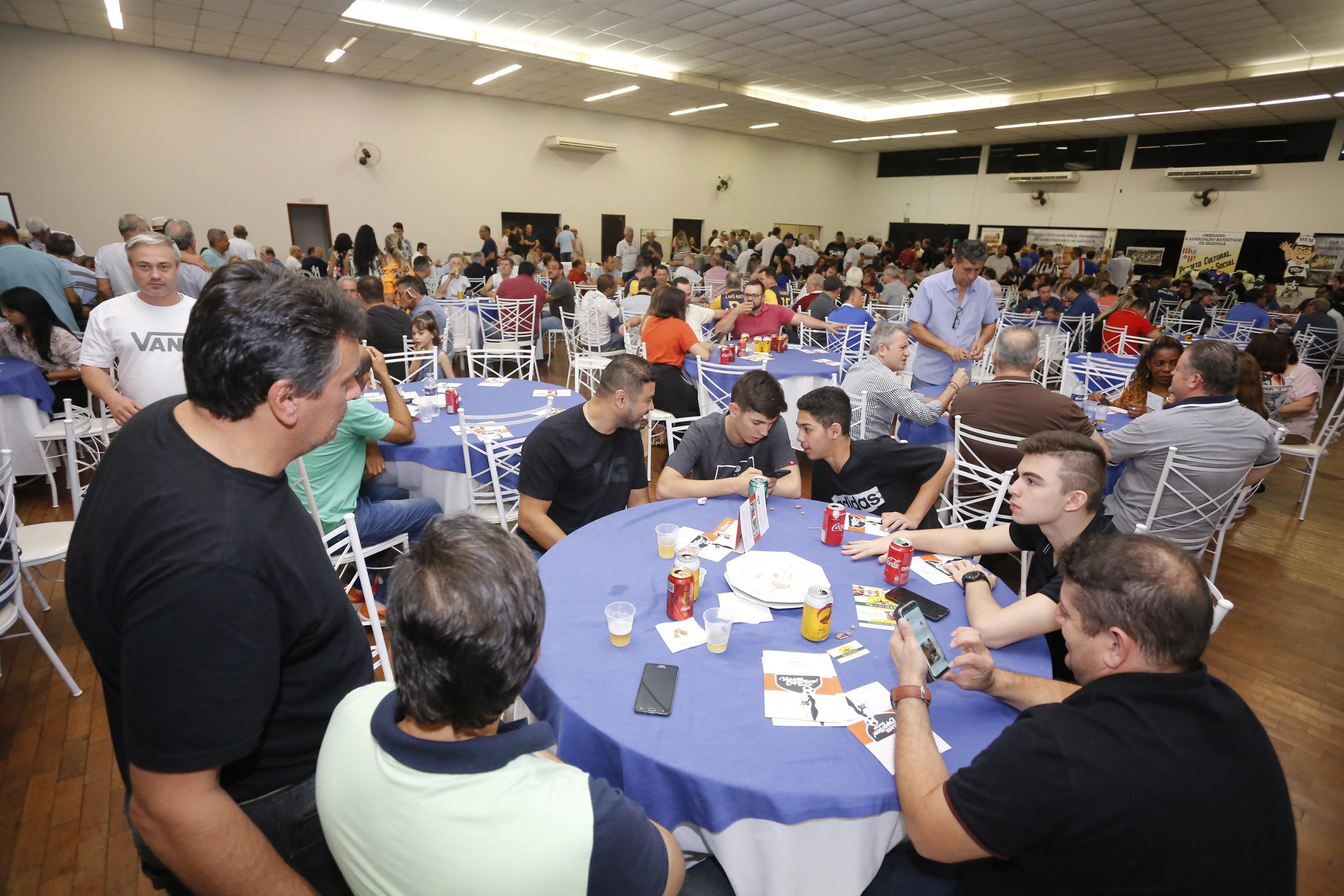 Associação Banestado teve público de 400 pessoas na festa do MEM e da LFSM