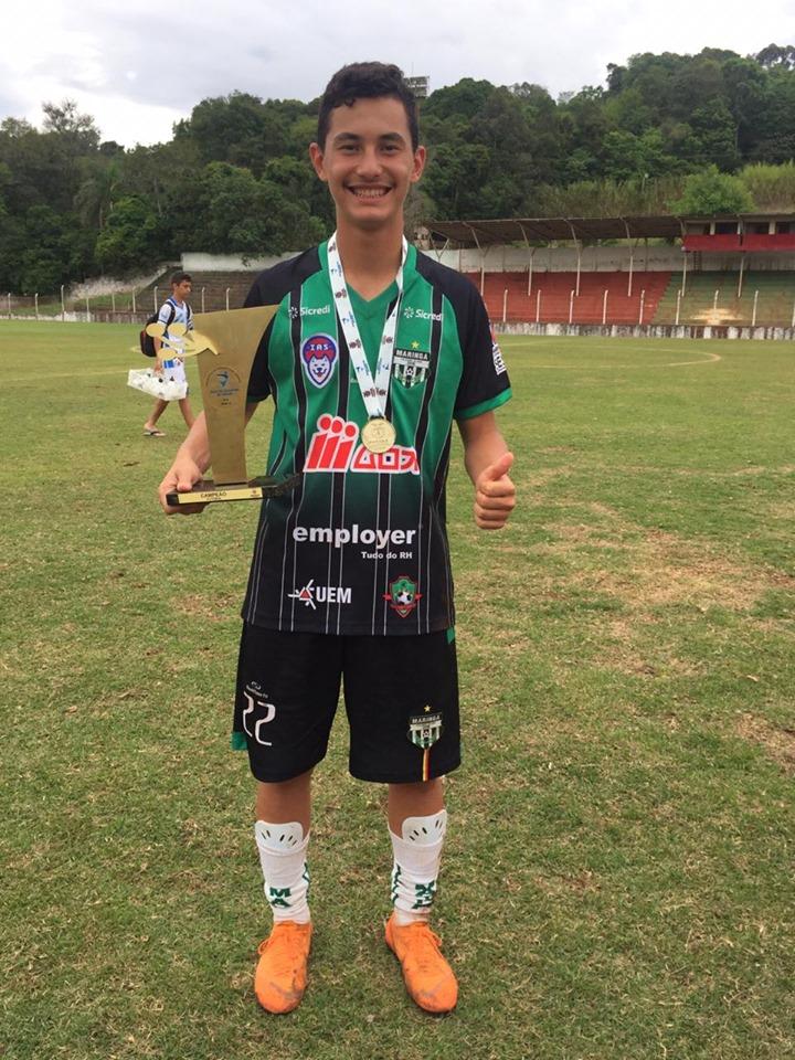 Parabéns, Leonardo Franzin, pelos seus 18 anos!