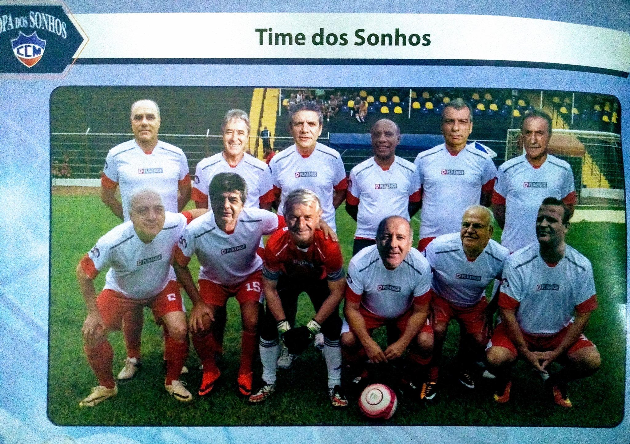 O jogo imaginário de um time inesquecível do Country Club Maringá (texto de Antonio Roberto de Paula)