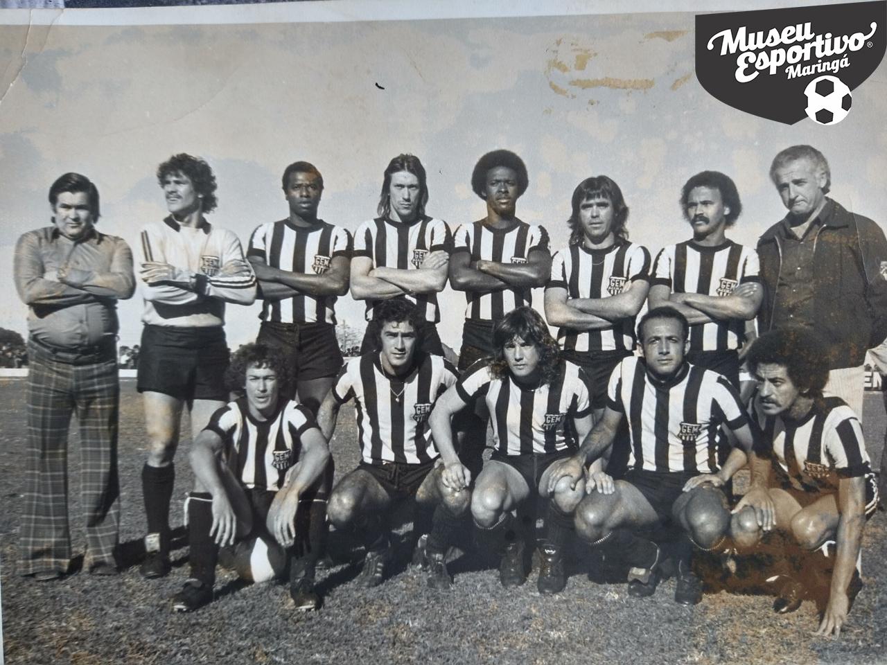 O primeiro Campeonato Paranaense disputado pelo Grêmio de Esportes Maringá foi em 1975.