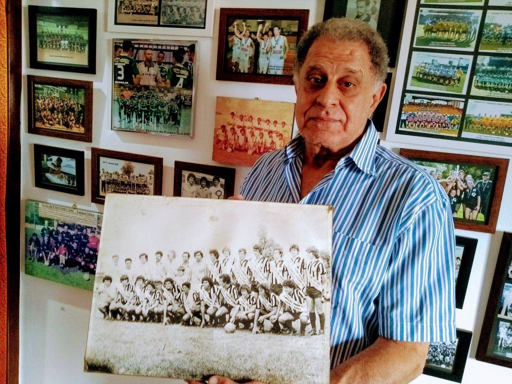 Gabriel Kara Neto visita o Museu Esportivo de Maringá