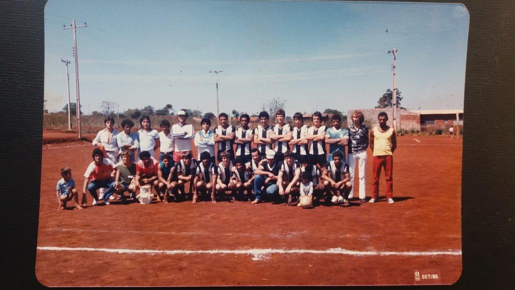 Equipe do Sarandi Esporte Clube, 1985, estado do Paraná