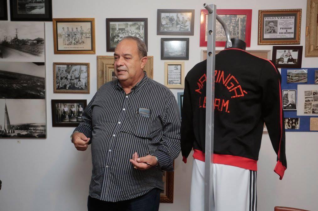 Presidente do CREF9/PR, Antonio Eduardo Branco, visita MEM