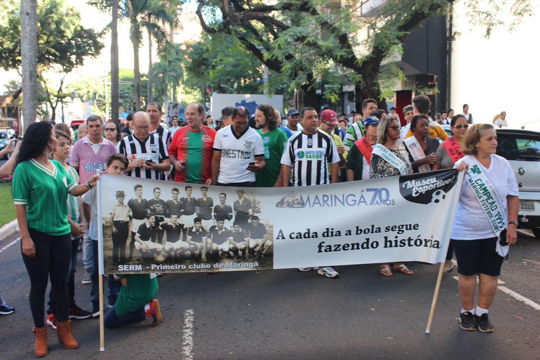 Desfile do MEM - 70 anos de Maringá