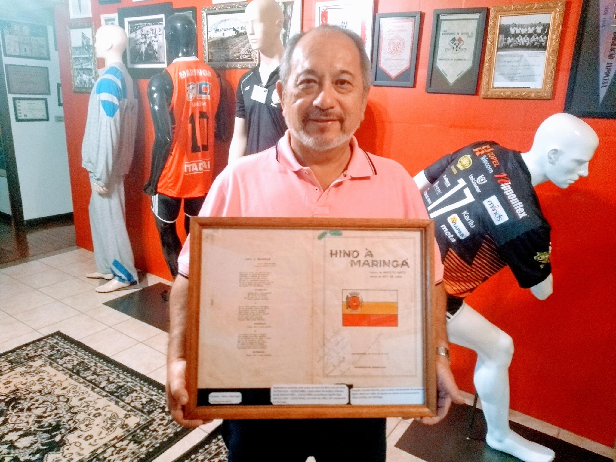 Com as assinaturas de Ary de Lima e Aniceto Matti